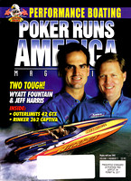 Wyatt Fountain & Jeff Harris For Poker Runs America Cover