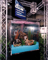 Live Trout Tank to Promote Mobil Environmentally Aware Industrial Lubes